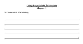 Science Explorer - Living Non Living (packet)