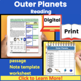 Science Expository Reading: Outer Planets (Free preview)