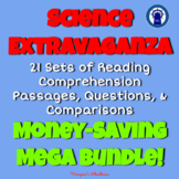Science Extravaganza Reading Passages, Questions, & More M