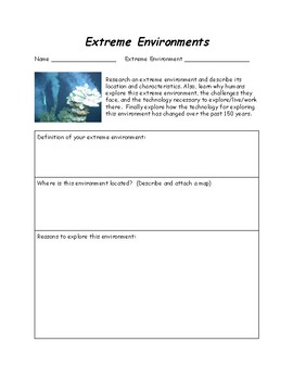 Science - Extreme Environments