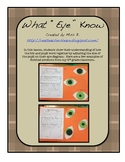 Science Eye Lesson: Iris and Pupil