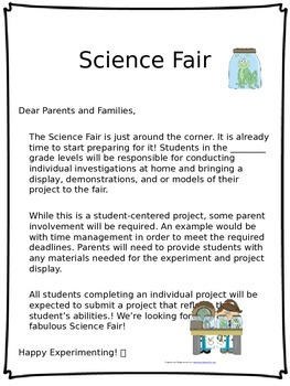 Science Fair 101