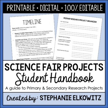 A Student's Guide to Research Projects