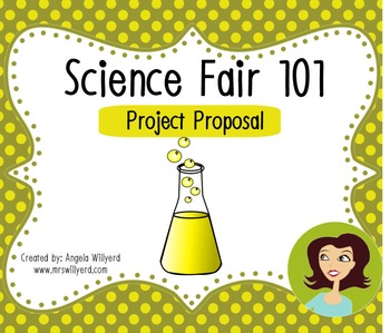 Science Fair 101: Project Proposal Form