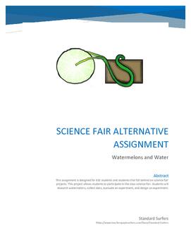 Science Fair Alternative Assignment ESE