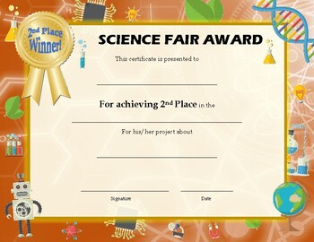 Science Fair Award