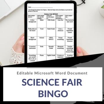 Science Fair Bingo