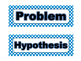 Science Fair Board Category Headings (Blue Polka Dot)
