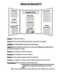 Science Fair Board Instructions