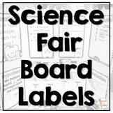 Science Fair Board Labels