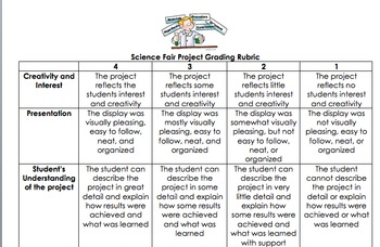 Science Fair Booklet