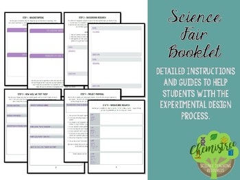 Science Fair Booklet