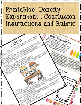 10 Science Fair Conclusion PowerPoint Lesson w Experiment, Directions & Rubric
