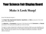 Science Fair Display Board Guide