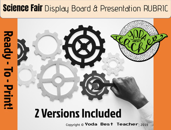 Science Fair: Display Board & Presentation RUBRIC
