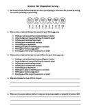 Science Fair Disposition Survey-Editable