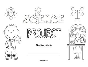 Science Fair Foldable (standard)