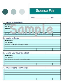 Science Fair Handout