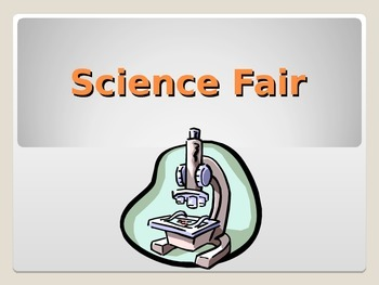 Science Fair Help