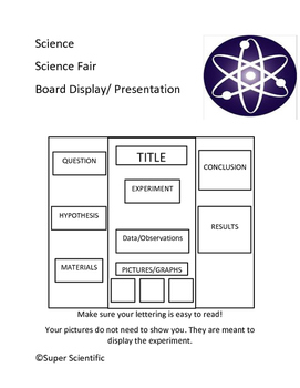Science Fair Helps and Hints