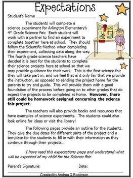 Science Fair Information Packet
