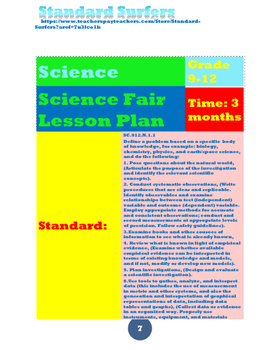 Science Fair Interactive Notebook