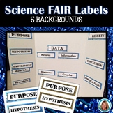 Science Fair Labels for a Display Board
