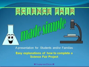 Science Fair Made Simple Powerpoint Presentation