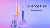 Science Fair Parent Intro Letter (Spanish version included)
