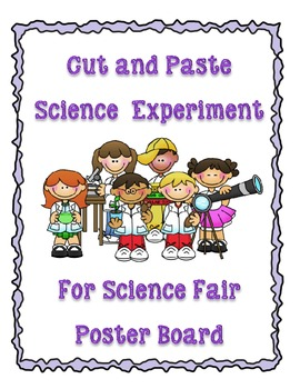 Science Fair Poster Board Cut and Paste Template and Outline
