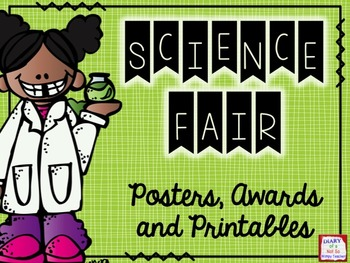 Science Fair: Posters, Awards and Printables