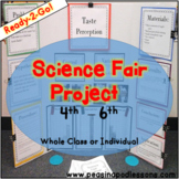 Science Fair Project & Experiment for 4th, 5th, and 6th grade