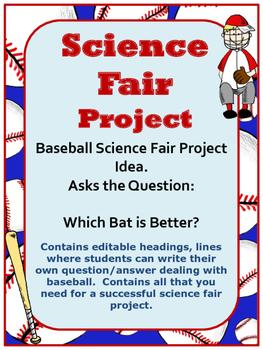 Science Fair Project:  BASEBALL THEME-  Hypothesis, Questi