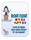 Science Fair Project - Boat Float