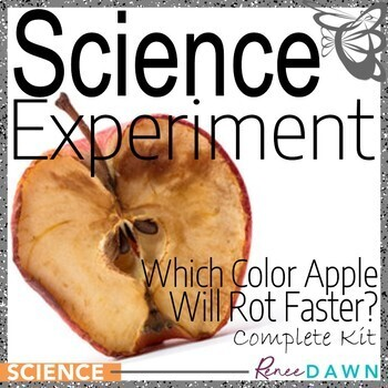 Science Fair Project - Science Experiment - Which Apple Rots Faster?