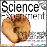 Science Fair Project - Science Experiment - Which Apple Ro
