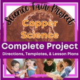 Science Fair Project - Green Penny Copper Science Experiment - Easy to Implement