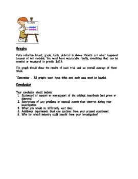 Science Fair Project Guidelines