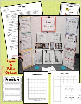 Science Fair Project & Experiment for kindergarten, first, second, third grade