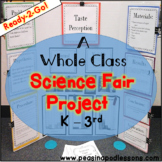 Science Fair Projects | Board Labels | Science Experiments K 1st 2nd 3rd grade