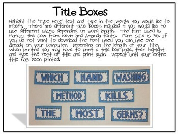 Science Fair Project Labels {YELLOW CHEVRON} --- with EDITABLE Title Labels