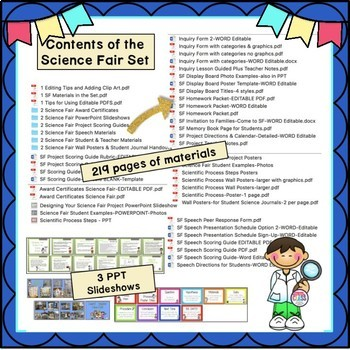 Science Fair Project Licensed for Use By Up to 10 Teachers at the Same School