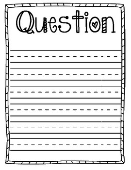 Science Fair Project Logbook Journal for Elementary