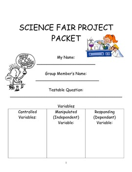 Science Fair Project Packet