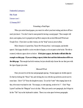 Science Fair Project Report Template & Directions all in one