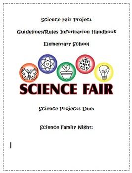 Science Fair Project Step-by-Step Teacher/Student/Parent Handbook
