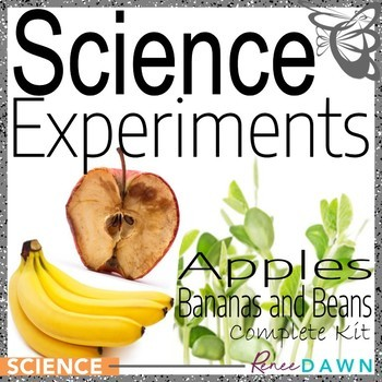 Science Fair Projects - Science Experiments BUNDLE