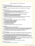 Printable: Science Fair Report and Display Checklists
