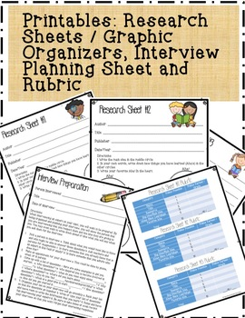 3 Science Fair Research Teaching PowerPoint and Handouts