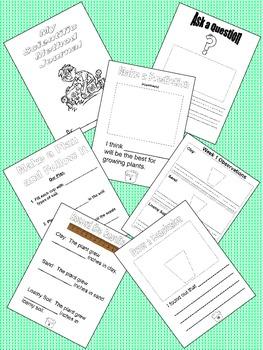 Science Fair - Scientific Method Journal for Primary Grades